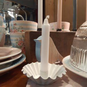 Kerzenhalter weiß