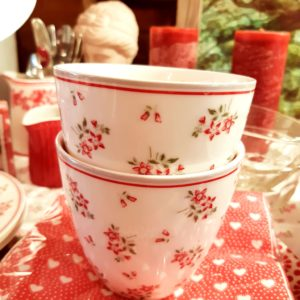 Greengate Latte cup – Avery white