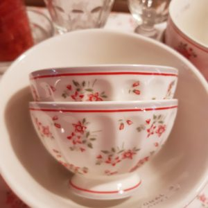Greengate French bowl medium – Avery white