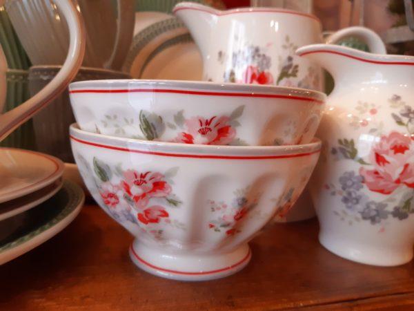 French bowl - Elouise white