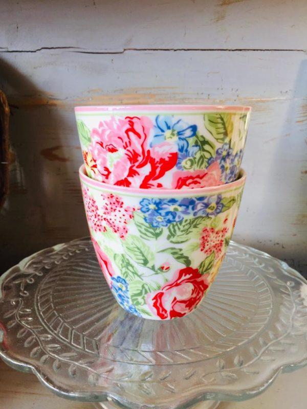 Greengate Latte Cup Emmaline White