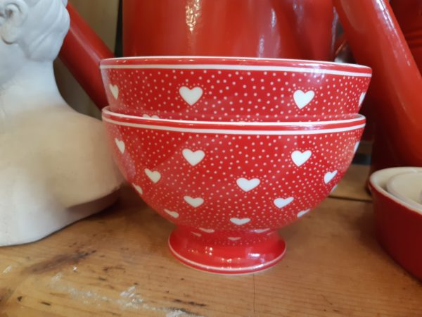 Soup Bowl Penny Red