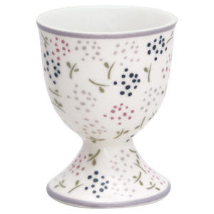 Stoneware Egg cup Ginny white