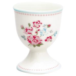 Stoneware Egg cup Sonia white