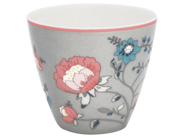 Stoneware Latte cup Sienna grey