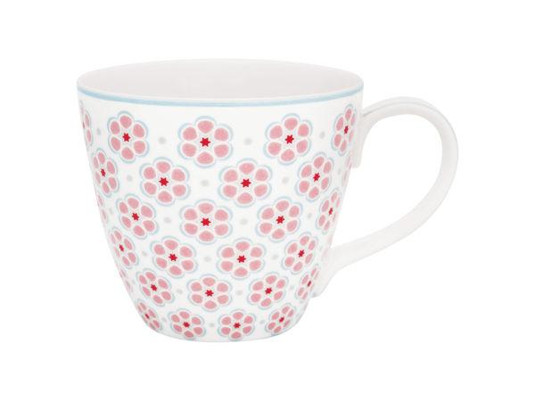 Stoneware Mug Leah pale pink