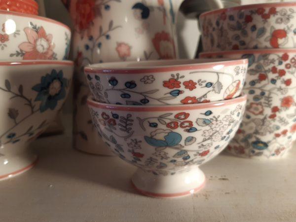 Stoneware Snack bowl Miley white