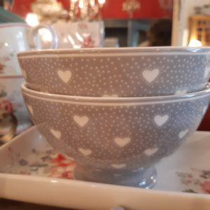 Stoneware Soup bowl Penny grey