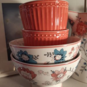 Stoneware Soup bowl Sienna white