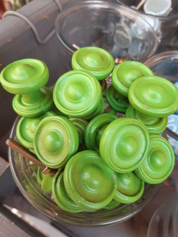 Knopf - Grün