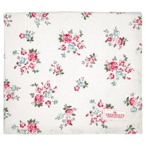 Cotton Tablecloth Sonia pale blue 100x100cm