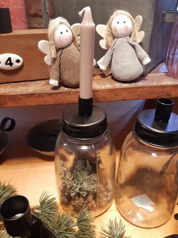 Kerzenhalter messing klein