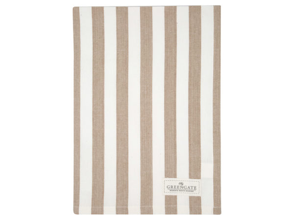 Cotton Tea towel Rigmor white