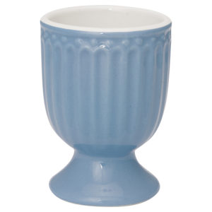 Stoneware Egg cup Alice sky blue