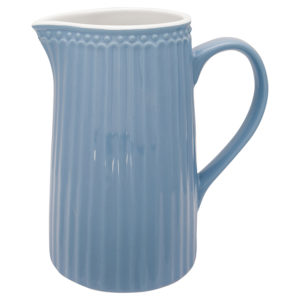 Stoneware Jug Alice sky blue 1L