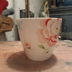 Greengate Latte Cup - Meryl white