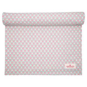 Tea towel Leah pale pink