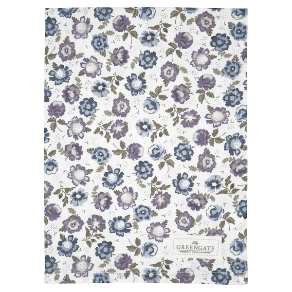 Cotton, Tea towel Beatrice white