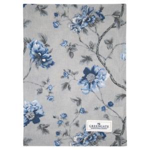Cotton, Tea towel Charlotte grey