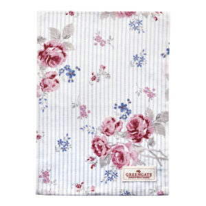 Cotton, Tea towel Elisabeth white