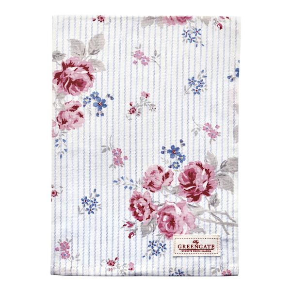Cotton, Tea towel Elisabeth white