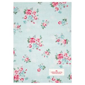 Cotton, Tea towel Sonia pale blue