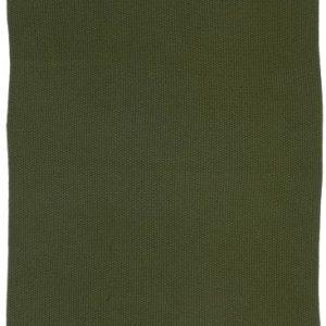 Handtuch Mynte dunkelgrün gestrickt
