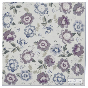 Paper Napkin Beatrice pale grey large 20pcs
