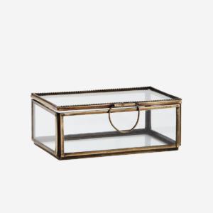 RECTANGULAR GLASS BOX