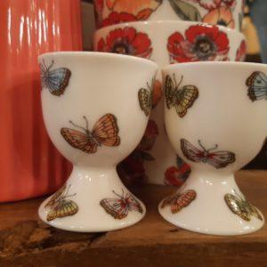 Stoneware Egg cup Maisie white