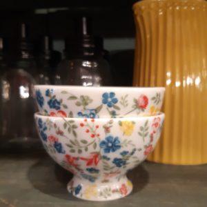 Stoneware Snack bowl Sophia white