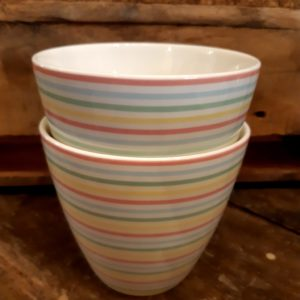 Greengate Latte Cup - Ansley white