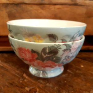 Greengate French Bowl XL - Josephine pale mint