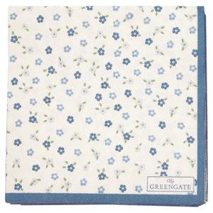Paper Napkin Ellise white small 20pcs
