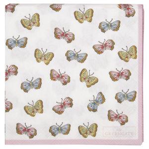 Paper Napkin Maisie white small 20pcs