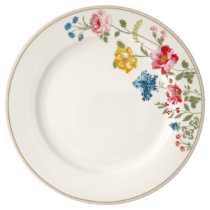 Stoneware Dinner plate Thilde white