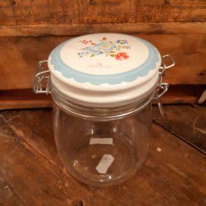 Greengate Vorratsglas - Henrietta pale blue 0,75 Liter