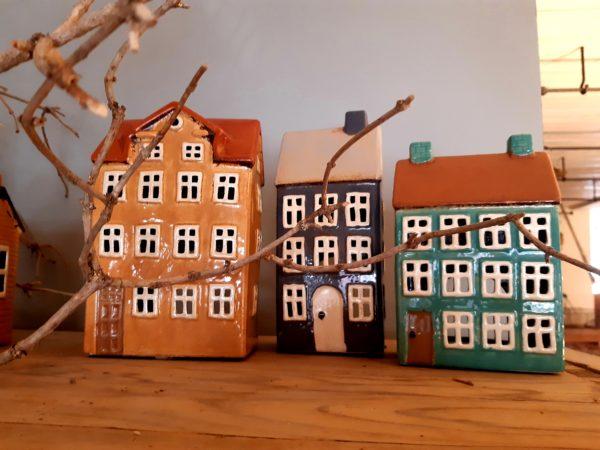 Häuser Teelicht
