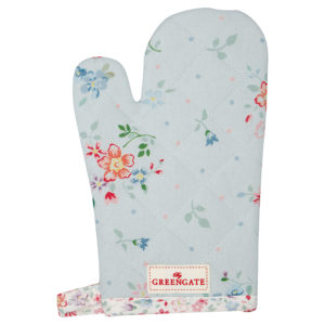 Cotton Child grill glove Belle pale blue