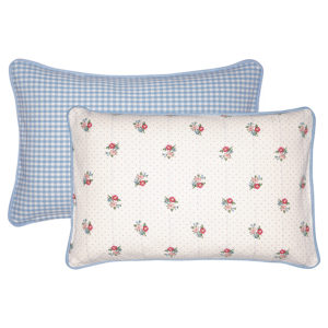 Cotton Cushion Eja white 30x50cm