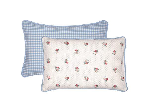 Cotton Cushion Eja white 30x50cm