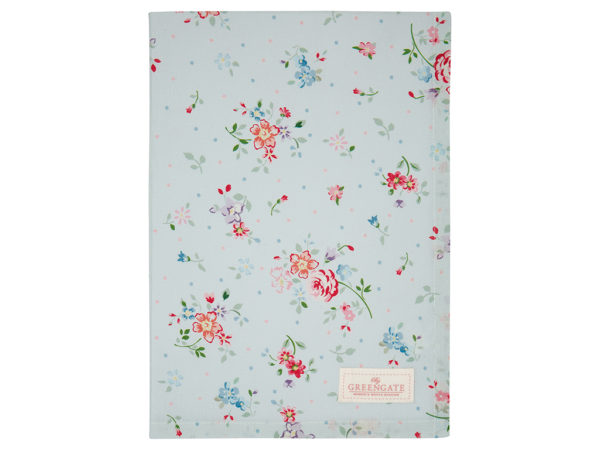 Cotton Tea towel Belle pale blue.jpg