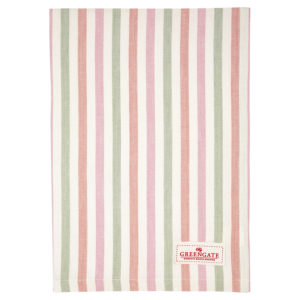 Cotton Tea towel Valentina white