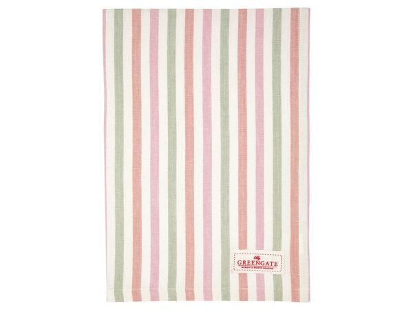Cotton Tea towel Valentina white