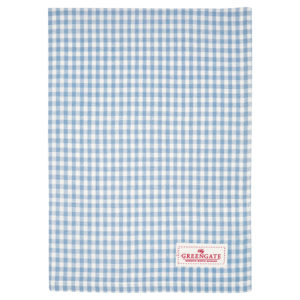 Cotton Tea towel Vivi pale blue