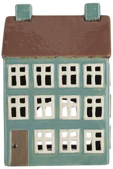 Haus für Teelicht - mint