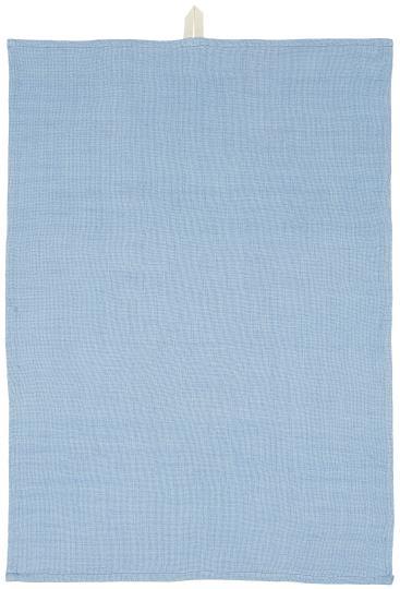 Geschirrtuch locker gewebt - blau