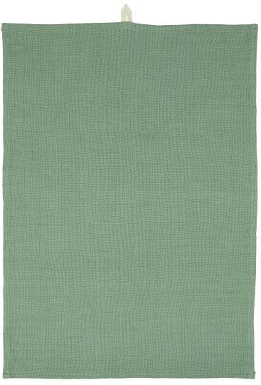 Geschirrtuch grün locker gewebt
