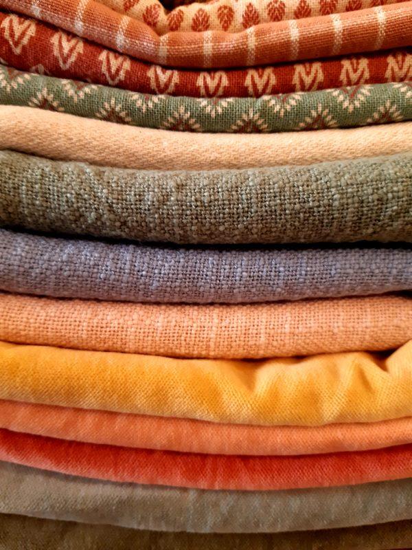 Geschirrtücher, Waschlappen, Kissenbezüge Farben