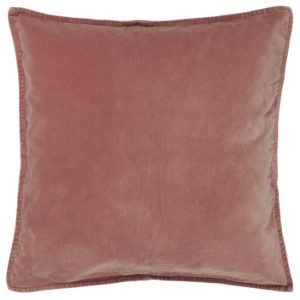 Kissenbezug Velour faded rose